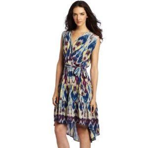 Charlie Jade Silk Hi low Hem Dress